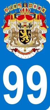 Armoiries Belgique